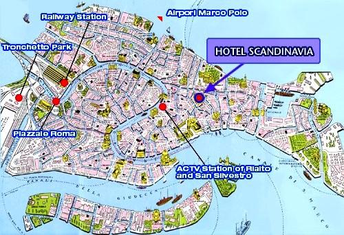 Hotel Scandinavia In Venedig Adria Italien